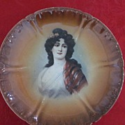 Royal Bonn Lady Portrait Plate