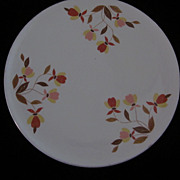 "Hall's Autumn Leaf 9 1/2"" Trivet"