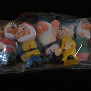 Disney Seven Dwarfs, Vinyl, Original Package, China