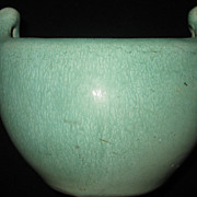 Weller Matte Green Arts & Crafts Vase