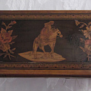 Victorian Sorrento Olive Wood Marquetry Box
