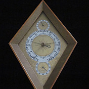 Swift & Anderson Diamond Shaped Barometer