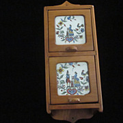 Spiceramic Pine Colonial Spice Box