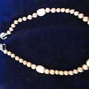 Judith McCann Faux Pearl Necklace