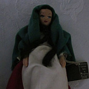 Peggy Nisbet Costume Doll Irish Lass
