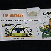Los Angeles International Airport Vinyl Souvenir Wallet