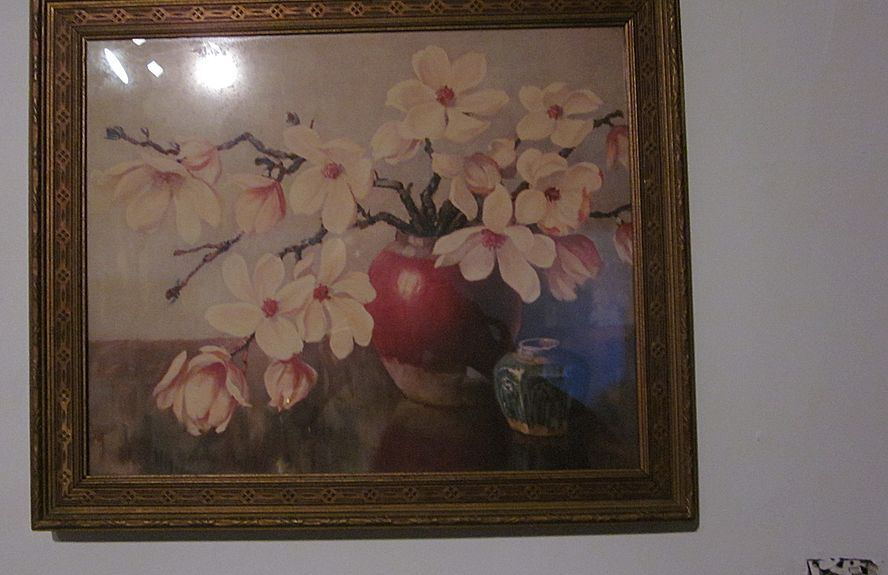 Pair Neil Walker Warner Framed Still Life Lithographs