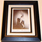 "SALE Fathers Day Sale! 1994 Fossil ""Bugs Bunny"" Limited Edition Portrait Series Ster"