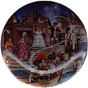 "1996 Disney ""Pirates Of The Caribbean"" Limited Edition Plate"