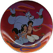 "1993 Disney Bradford Exchange ""Magic Carpet Ride"" L.E. Plate"