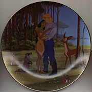 "1995 ""Loves Embrace"" Limited Edition Plate"