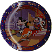 "1994 Disney ""The Brave Little Tailor"" 1938 Limited Edition Plate"