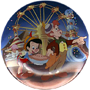 "1991 Pinocchio ""Pleasure Island"" Limited Edition Plate"