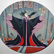"REDUCED 1993 Disney ""Maleficent"" Limited Edition Plate"