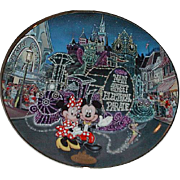 "REDUCED 1996 Disney ""Main Street Electrical Parade"" Limited Edition Plate"