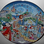 "1997 Disney ""Remember the Magic Parade"" Limited Edition Plate"