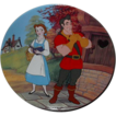 1993 Beauty and the Beast &quot;A Mismatch&quot; Limited Edition Plate