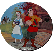 "1993 Beauty and the Beast ""A Mismatch"" Limited Edition Plate"