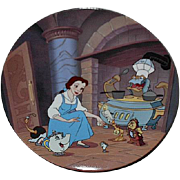 "1994 Beauty and the Beast ""Enchante Cheri"" Limited Edition Plate"