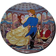 "1994 Beauty and the Beast ""The Spell is Broken"" Limited Edition Plate"