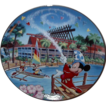 1997 Disney &quot;South Seas Paradise; Polynesian Resort&quot; Limited Edition Plate