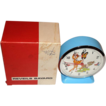 Rare! 1950's French Bayard &quot;Bambi&quot; Motion Dial Alarm Clock MIB