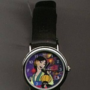 "1998 Disney Fantasma ""Mulan"" Animated Dial Ladies Watch"