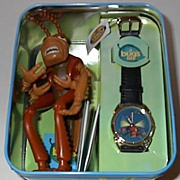 "1998 Fossil ""Hopper"" from ""A Bugs Life"" Limited Edition Watch"
