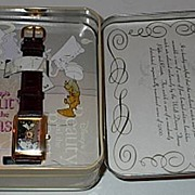 "1993 Fossil ""Beauty and the Beast"" Limited Edition Watch and Pin Set"