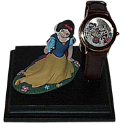 "1998 Fossil ""Snow White and the Seven Dwarfs"" Collector Club VII Limited Edition Wat"