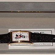 "Rare! 1989 Pedre ""Mickey Mouse"" as ""Fred Astaire"" MGM Studios Watch"