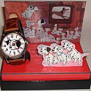 "1992 Fossil ""Lucky"" from ""101 Dalmatians"" Disney Store Collector Club 1 Li"