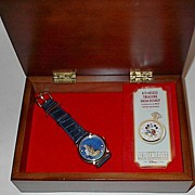 "SOLD 50% Off Sale! 1996 Fossil ""Pocahontas"" Collector Club V Limited Edition Watch a"