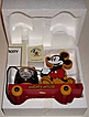 "1994 Fossil ""Mickey Mouse"" Limited Edition Watch and Pull Toy"