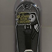 "SOLD 1993 Disney Touchstone ""Jack and Sally"" Nightmare Before Christmas Unisex Watch"