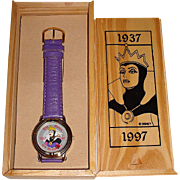 "Mothers Day Sale! 1997 Becora ""Evil Queen"" 60th Anniversary Animated Dial Limited Ed"