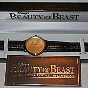 "1994 Fossil ""Beauty and the Beast"" Broadway Musical Limited Edition Watch"
