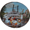 1996 Disney &quot;Mark Twain Riverboat&quot; Limited Edition Plate