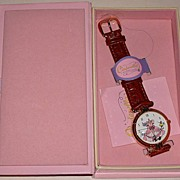 "1995 Fossil ""Cinderella"" 45th Anniversary Disney Store Exclusive Watch"