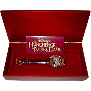 "50% Off! 1996 Fossil ""Hunchback of Notre Dame"" Limited Edition Watch"
