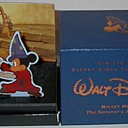"SALE Fathers Day Sale! 1992 Fossil ""Mickey Mouse"" Collector Club 1 Animated Dial Lim"