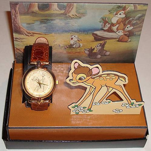 1993 Fossil &quot;Bambi&quot; Collector Club 1 Limited Edition Watch