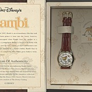 "1995 Fossil ""Bambi"" Disney Film Classics Volume III Collectors Edition Watch"