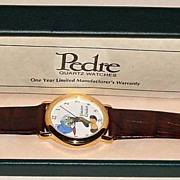 1990 Pedre &quot;Jiminy Cricket&quot; Limited Edition Watch