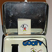 "1995 Fossil ""Goofy"" Limited Edition Watch and Pull Toy"