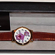 "SOLD 1994 Fantasma ""Cheshire Cat"" from ""Alice in Wonderland"" Animated Dial"