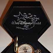"1996 Majesti ""Walt Disney World"" 25th Anniversary Pocket Watch"