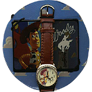 "1996 Fossil ""Woody"" from Toy Story Limited Edition Watch"