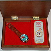 "1996 Fossil ""Little Mermaid"" Collector Club V Limited Edition watch and Music Box"