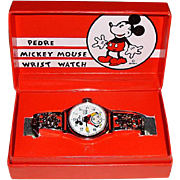 "1990 Pedre ""Mickey Mouse"" Limited Edition Watch."